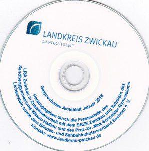 Gesprochenes Amtsblatt 2016 - Landkreis Zwickau - Landratsamt